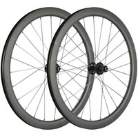 Disco de freio de carbono Wheelset Clincher 45 milímetros Profundidade 25 milímetros Largura de carbono rodas de bicicleta de estrada 3k Matte Corrida de Rodas CX3 Hub