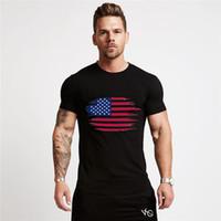 ZSIIBO 2020 erkek tasarımcı t shirt yeni moda bize bayrak baskı pamuklu t shirt sokak stili hip hop üst tee DYDHGMC196