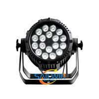 18x10W RGBW 4 في 1 LED الخفيفة الاسمية للماء IP65 DJ في الهواء الطلق LED أضواء المسرح