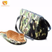 Pet Dog Carrier Puppy Dog Sacs à bandoulière pour chats Transportant des voyages en plein air pour petits chiens Animaux Sac à dos souple Pet Products DOGGYZSTYLE