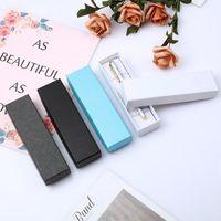 Мода перьевой дисплей упаковка коробка ручка подарок ювелирные изделия упаковка случай жесткий картон бумага подарочная коробка QW9666