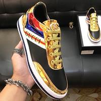 60fa5414b 2019 high-end dos homens G @ CUCI sapatos casuais de couro moda calçados  esportivos