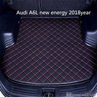 사용자 정의 미끄럼 방지 가죽 자동차 트렁크 매트 바닥 매트 아우디 A6L 새로운 에너지 2천18년 자동차 미끄럼 방지 매트에 적합
