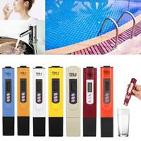 Su Kalitesi Test Dijital LCD TDS PPM Metre Ev Içme Dokunun Havuz Suyu Kalitesi Saflık Test TDS Metre 3