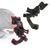 Caza Paintball táctico rápido montaje del casco con el adaptador del brazo J NVG