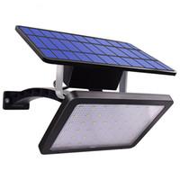 سوبر مشرق 800LM مصباح للطاقة الشمسية 48 المصابيح ضوء الشمسية للحديقة في الهواء الطلق ساحة الجدار LED إضاءة الأمن مع زاوية الإضاءة القابلةlable