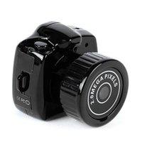 Mini cámara inalámbrica 1080P vídeo grabadora de audio Y2000 videocámara DV DVR Pequeño Secreto Seguridad niñera coche deportivo Micro Cam con micrófono