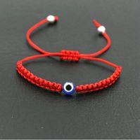 20шт / 10set Лаки турецкий сглаза Braid Браслет Red Blue Rope Thread Строка Мужчины Женщины Chakra Браслеты Пары Ювелирные изделия