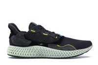 2019 Originals ZX4000 4D Noir Futurecraft Carbon Onix Gris Un Homme Chaussures De Course Authentique Baskets De Sport Avec La Boîte BD7931 BD7865 B42203