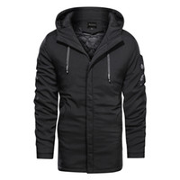 Mens Designer Jacket Coat Hooded Plus Size Casual Fashion Ou...