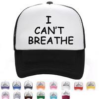 Ben Açık Erkekler Ve Kadınlar Şapkalar Moda Mesh Cap Beyzbol şapkası Yaz Güneş Şapkası 15 Renkler EEA1658 Breathe Can not