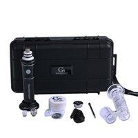 G9 Retail Greenlightvaspes Portable Enail Dabtime cire Pen Henail plus Carb Cap magnétique Dabber 2500mAh Batterie G9 Henail 2.0 Pen cire