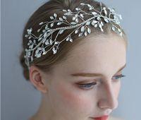 Envío libre Tiaras pelo en la acción CrystalCheap 2020 tocados de la joyería del diamante del Rhinestone de la boda de pelo de la corona de la banda de baile de noche nupcial Tiara