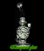 2020 9 '' Exosphere 14 buche fab uovo di vetro Bong recyle Oil Rigs DAB tubo di acqua rig fumare Eggosphere combo di giunto sferico rig 14,4 millimetri