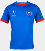 EW Coupe du monde de rugby 2019 Jersey Samoa SAMOA RUGBY Japon Maillots taille SAMOA RUGBY LIGUE COUPE DU MONDE 2017 HOME JERSEY S-3XL