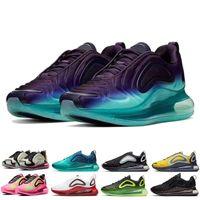 حذاء الجري للرجال من تريبل بلاك M2k Tekno Zoom 2K - أسود / أرجواني