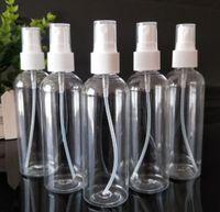 püskürtücü sprey şişesi ile plastik şişe PET temizlemek 100ml Temizle Doldurulabilir Plastik Temizlik Parfüm Mist Püskürtme Pompa boşaltın