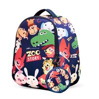 Fashion Children Backpack Cute Animal Printing Cartoon Backp...