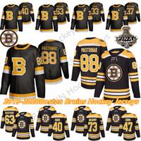 Boston Bruins Hockey 33 Zdeno Chara 8 Cam Neelely 88 David Pastrnak 63 Brad Marchand Charlie McAvoy 74 Jake Debrusk Hockey Trikots