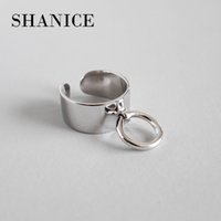 Shanice Charm Trendy 925 Sterling Silver Rings For Women Big...