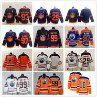 Edmonton Oilers 2019-2020 الجائرات الثالثة 97 كونور ماجدافيد جيرسي 29 ليون درايسيتل 93 ريان نوجينت هوبكينز الهوكي الهوكي