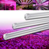 T8 LED integrado crece la luz UV 365-375nm 365nm 3 pies de 14W AC100-305V del tubo luces 72leds PF0.95 FCC bombilla de la lámpara ultravioleta Desinfección Germ