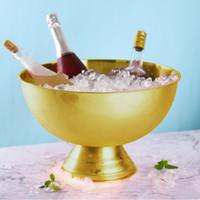 verdickung edelstahl große größe becken champagner eimer eiskübel champagner eiskübel party essen salatschüssel