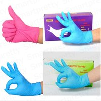 100pcs / Package Disable Gloves Nitrile Latex Rubber Protective Gloves Food Grade Chinching Gloves Disable Vinyl Covey E333103