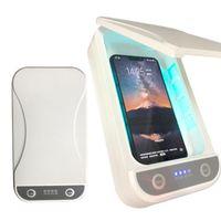 La luce UV Phone Sanitizer Cellulare UV portatile sterilizzatore Con diffusore UV Sanitizer Box Disinfezione Cleaner per maschere Gioielli