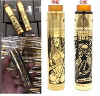 e cigarro vape Torre Mod Tubo AXIS mecânico mod kit rda filipinas vape mech mod 18650