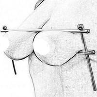 Nouveau en acier inoxydable Pinces à mamelons en métal Boobs clip Fétiche BDSM Restraint Sex Toys Femmes sein Bondage Produits pour adultes Slave jeu