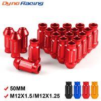 Dynoracing Billet Aluminium-Rennrad-Rasenmuttern M12x1.5 / M12x1.25 für Honda für Ford für Toyota 20pcs / set