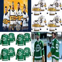 2020 Inverno Classic Dallas Stars Jersey Nashville Predators Jerseys 91 Seguin 14 Jamie Benn 9 Filip Forsberg 59 Roman Josi Ice Hockey Jersey