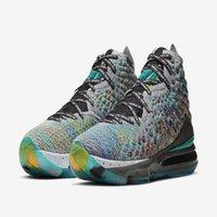 2020 أنا أعد ليبرونات 17 xvii ep الرجال المصممين أحذية كرة السلة مع مربع 2020 lebrons الأحذية الرياضية XVII حجم 7-12