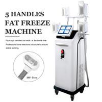2019 High End Cryolipolysis Yağ Freeze Lipo Yağ Temizleme Makinesi Cryo Freeze satışa Dışarıda Yağ Vücut Şekillendirme Zayıflama Zayıflama Ekipmanları