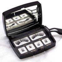 HOT sell Magnetic eyelash acrylic set of one pairs of magnet...