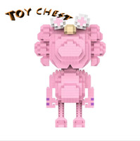 TOY CHEST 15CM Pink KAWSS Small Sarticle Puzzle Casual Spell...