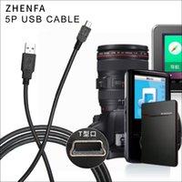 Zhenfa USB PC ata SYNC Cable Cord for CANON Camera IFC-300PCU 10 M 80D EOS 5D II Mark III Rebel 1 2 T4i