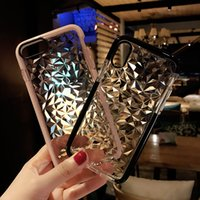 Luxus Jelly 3D Diamant-Phone Cases für iPhone 11 Pro Max X XR XS Max SE2 7 8 6 6S Plus-weiche TPU Transparent Stoß- Abdeckung Freies DHL