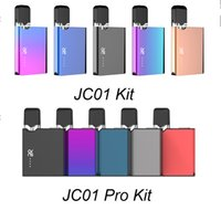 100% Original OVNS JC01 Kit JC01 Kit Pro 400mAh VV Box Mod Avec 1,0ml vide Pod cartouche JC Pour Rechargeables épais huile Starter Kit