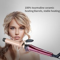 with Protection Hat PTC heater Hair Curling iron LCD display...