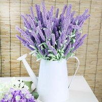 lavender flower silk artificial flowers grain decorative Sho...