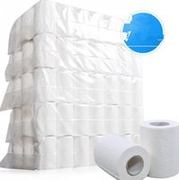 Papel higiénico papel de seda 4-capa blanda higiénico Home Rodamientos papel liso 4ply de papel de papel higiénico Toalla KKA7703