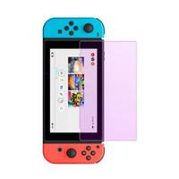 Pantalla de cristal templado de protección 9H Arco borde de la película de pantalla para Nintendo Interruptor Protección para los ojos la cubierta para el interruptor serie de juegos de Nintendo Accesorios
