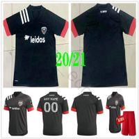 2020 2021 MLS DC United Soccer Jerseys Gressel Flores Arriola Kamara Rooney Acosta Harkes Stieber Personalizado D.C 20 21 Adulto Crianças Futebol Camisa