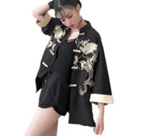 2018 summer women' s robe traditional kimono cos clothes...