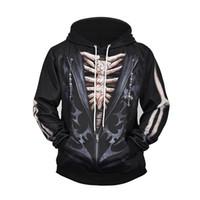 Männer Streetwear lustige Sweatshirts Mode Hoody Gothic Hip Hop Kapuze 3D gedruckt Kostüm Cosplay Halloween Pullover 3d Hoodies