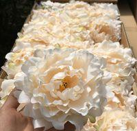 8colors Nueva floral artificial Peony cabezas de flor del partido decoración de la boda Suministros Simulación falso 12cm Cabeza de flor decoración para el hogar