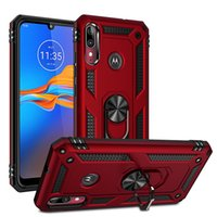 Aimant militaire hybride Béquille pour Motorola Moto E6 plus G7 G7 jouer puissance LG K50 Q60 K40 LG Stylo5 Aristo2
