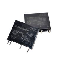G3MB-202P DC-AC PCB SSR في 5VDC ، خارج 240V AC 2A تتابع الحالة الصلبة